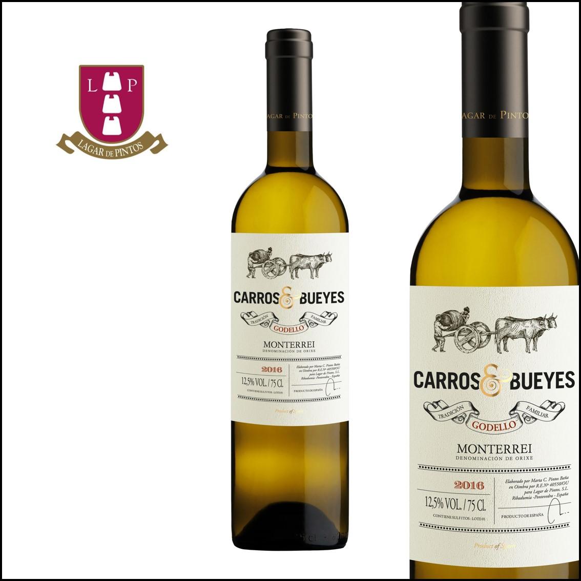 Lagar de Pintos «Carros & Bueyes» Godello D.O. Monterrei
