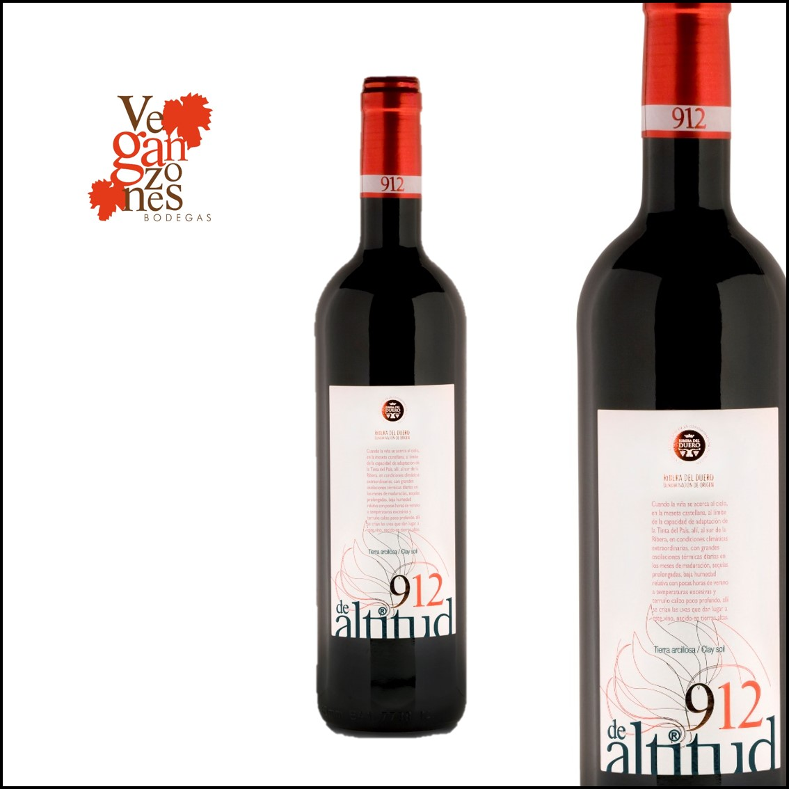 Veganzones «912 de Altitud» Tierra Arcillosa D.O. Ribera de Duero