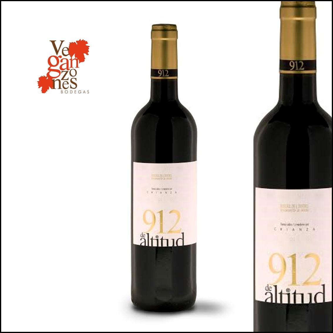 Veganzones «912 de Altitud» Tierra Caliza D.O. Ribera de Duero