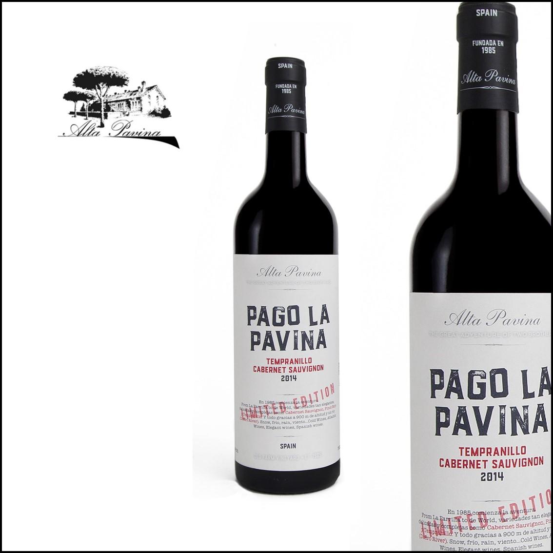 Alta Pavina «Pago la Pavina» Tempranillo 80% Cabernet Sauvignon 20%
