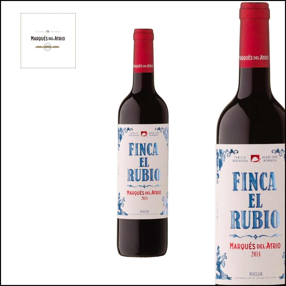 Marqués del Atrio «Finca El Rubio» D.O.Ca RIOJA