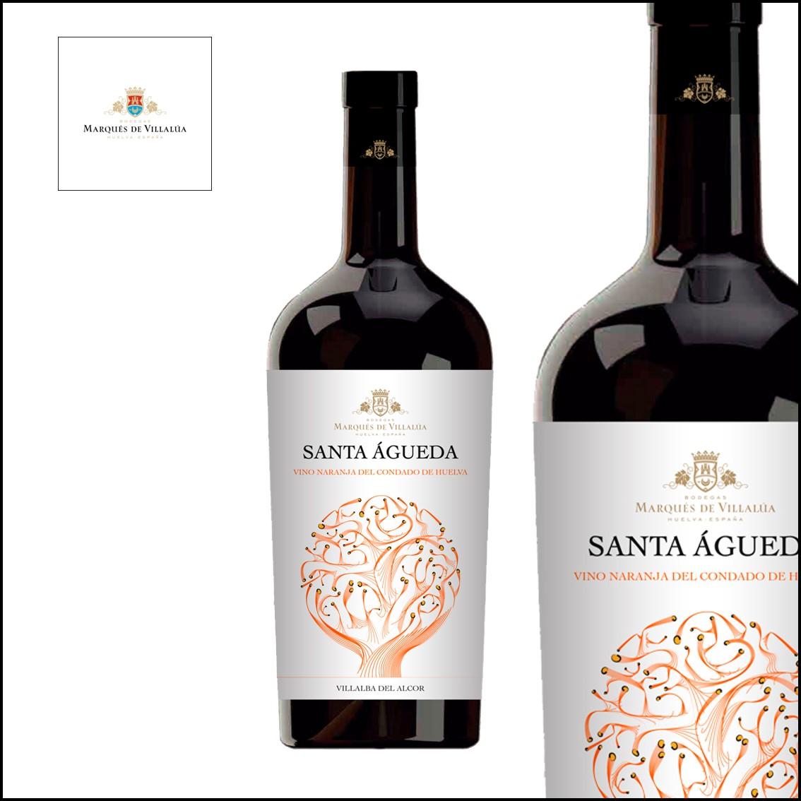 Marqués de Villalúa «Santa Águeda Vino de Naranja»