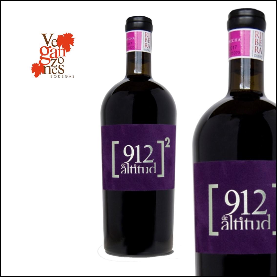 Veganzones «912 de Altitud» Al Cuadrado D.O. Ribera del Duero